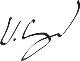 Signatur Viktor Grahn VD