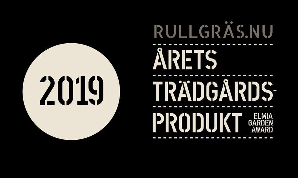 Rullgräs Årets Trädgårdsprodukt 2019