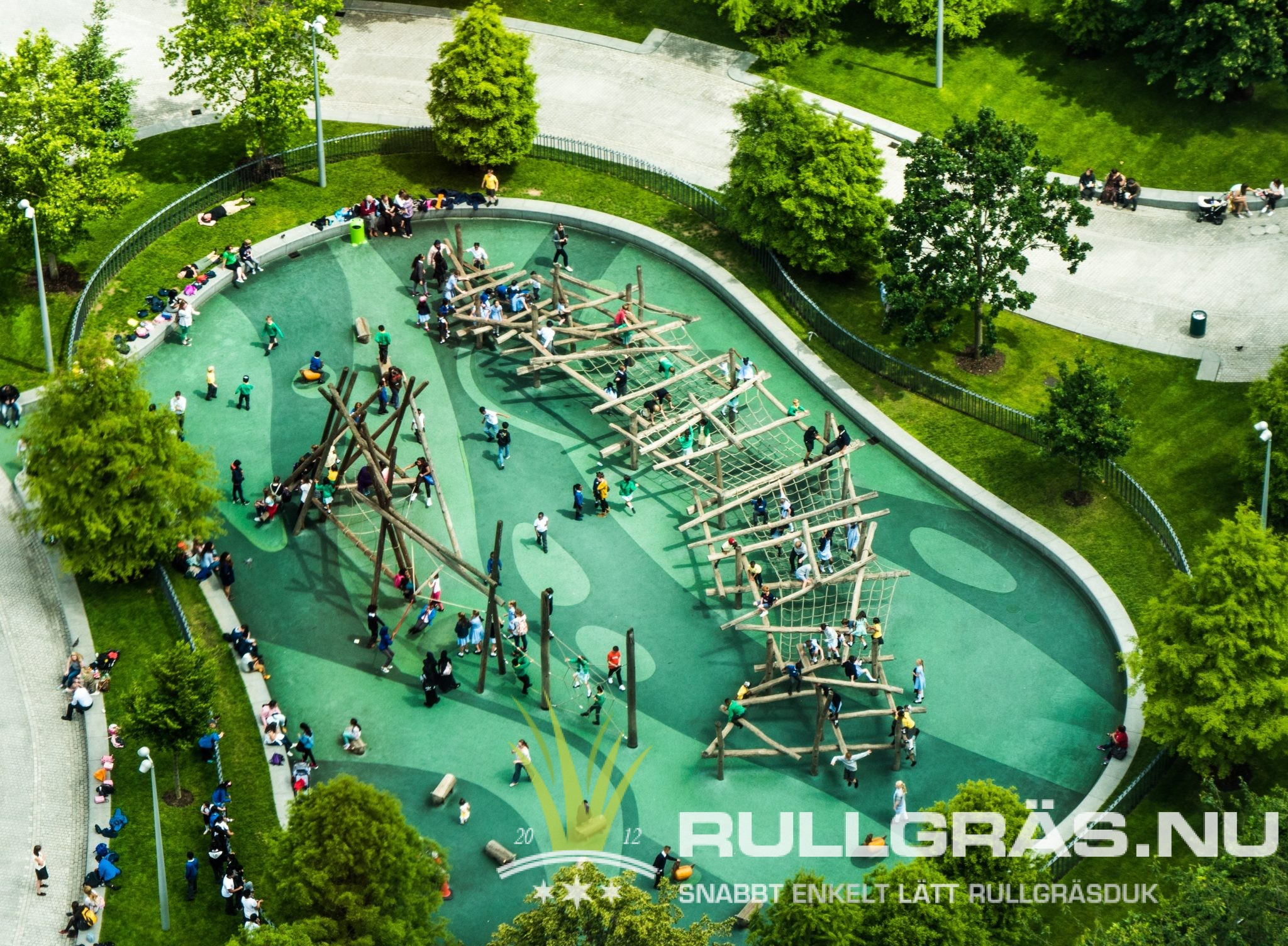 Rullgräs Poolområde Gräsmatta Rullgräs.nu