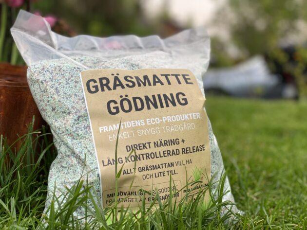 Gräsmattegödsel nyetablering anlägga gräsmatta