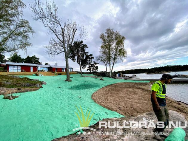 Rullgräs 1000 m2 Stockholms skärgård